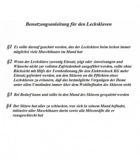 Lecksklave42 aus Niedersachsen,Deutschland